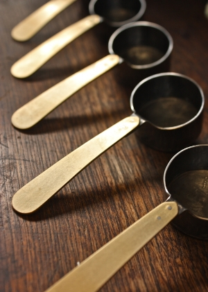 Coffee scoop by Mitsuhiro Konishi  $60