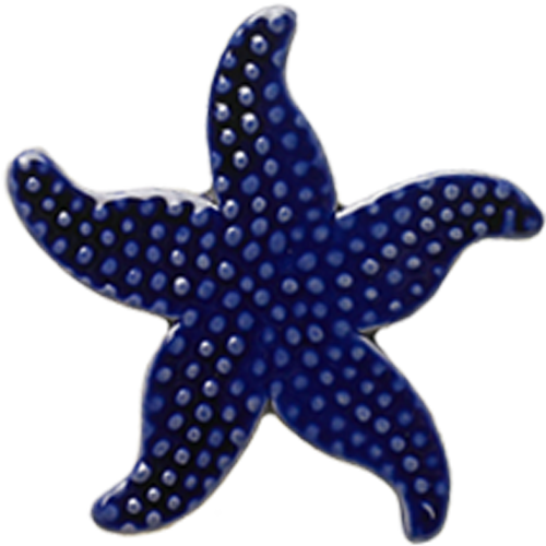 "5"" Royal Blue Starfish"
