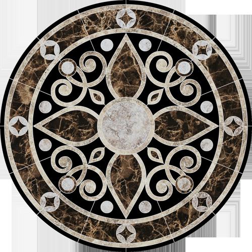 Baroque Medallion 2
