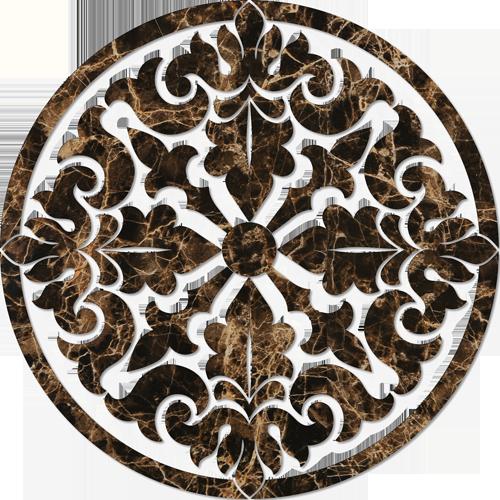 Baroque Medallion