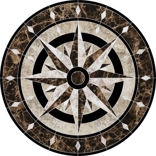 Compass Medallion
