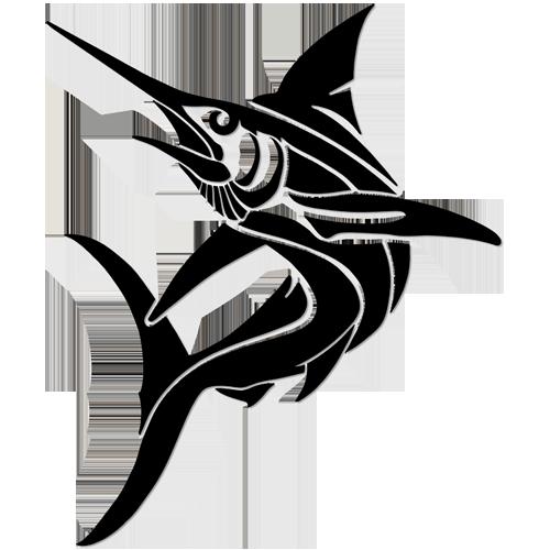 Tribal Marlin (Black)