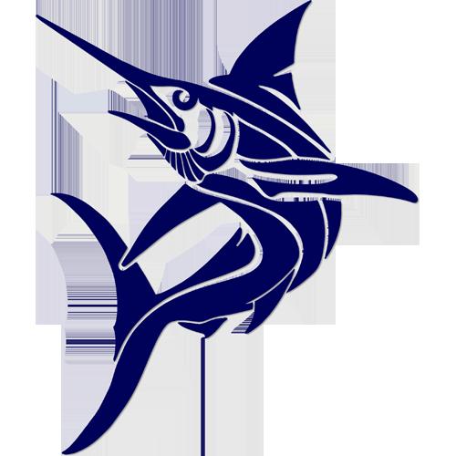 Tribal Marlin (Blue)