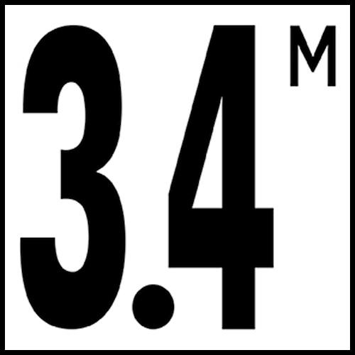 Smooth: DM51-534 Non-Skid: DM52-534