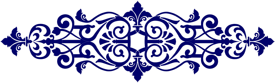 Baroque Center Scroll Blue.png
