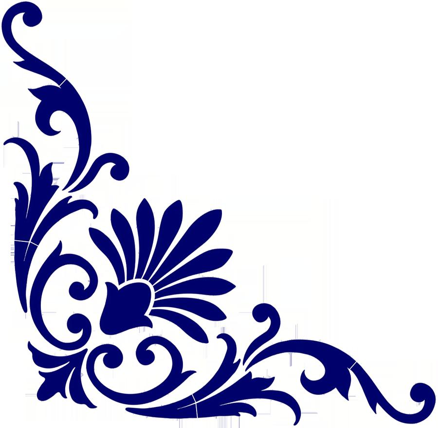 Baroque Corner Scroll Blue.png