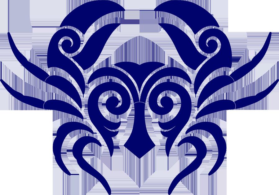 Tribal Crab Blue.png