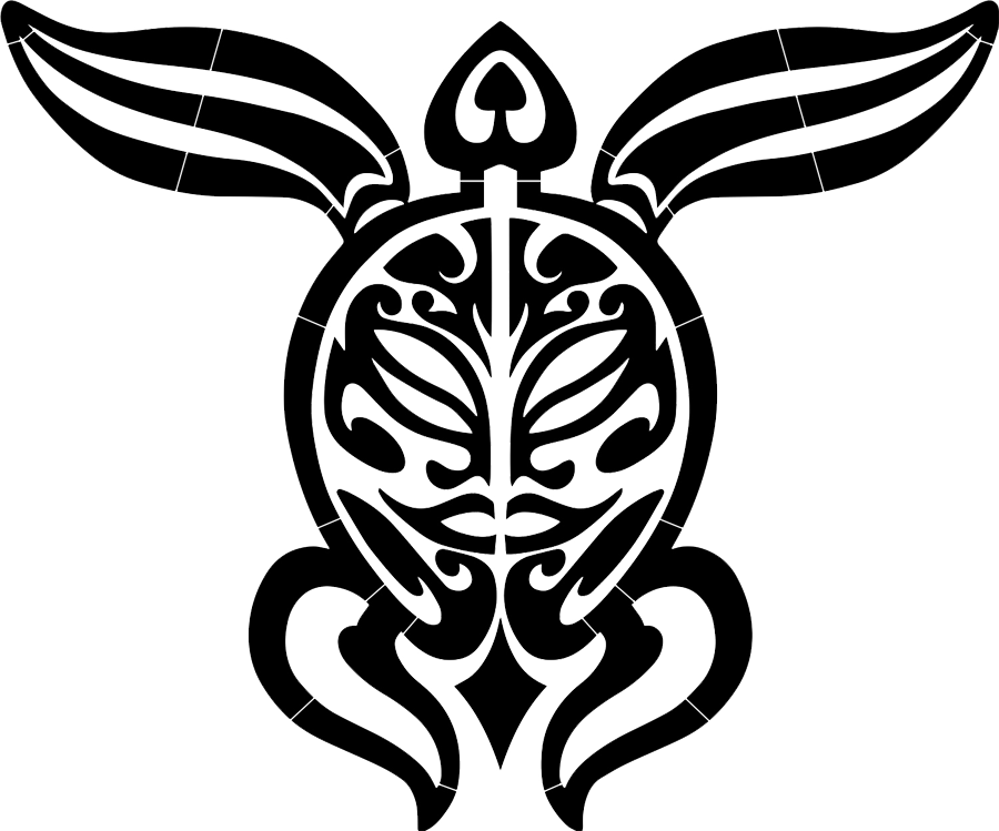 Tribal Turtle Black.png