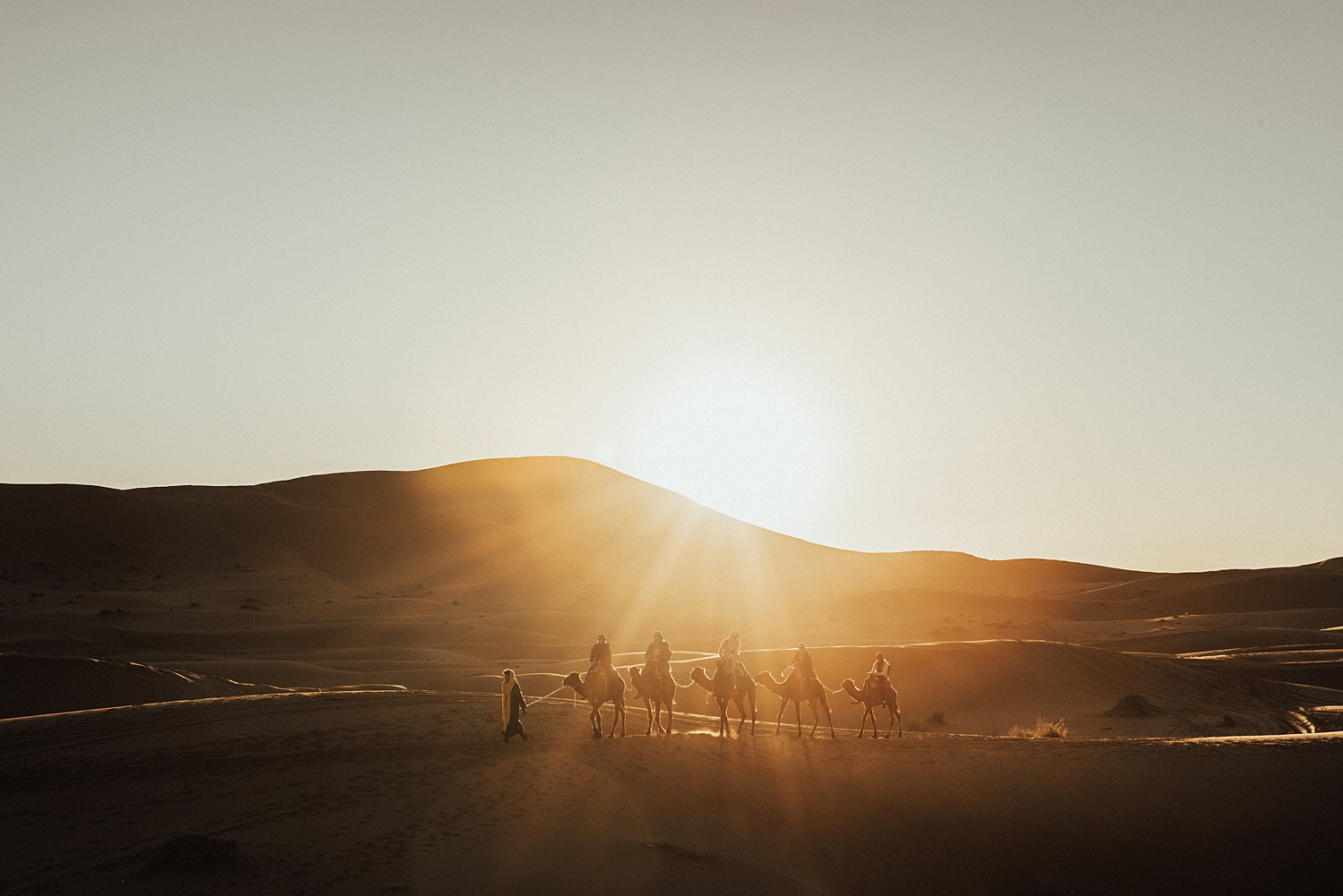 MOROCCO  Looking for something a bit more adventurous? Consider the Sahara! Sand boarding makes for a great post wedding day activity… Not to mention exploring ancient Arabic cities that date back to middle Ages.