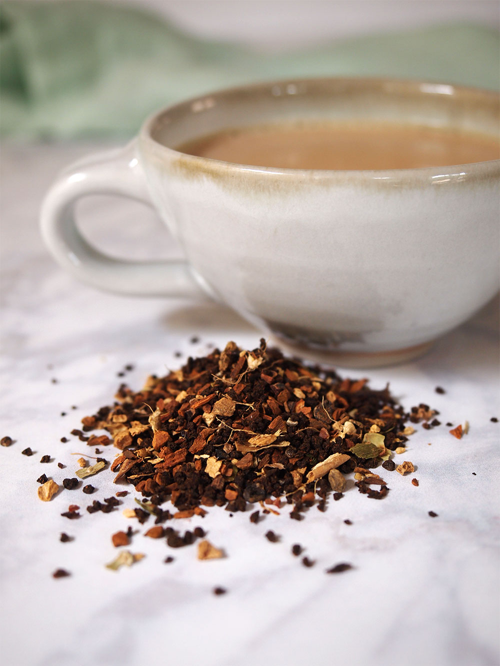 Masala Chai Tea Blueberry Sauce - Beginning with Bergamot