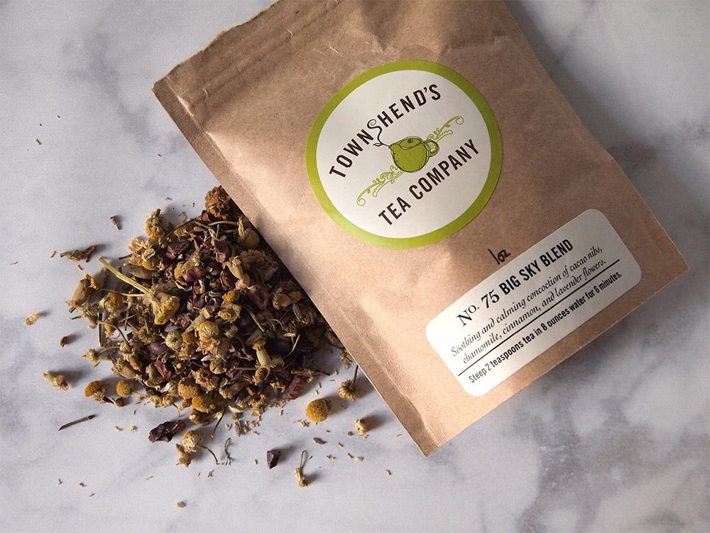 Big Sky Blend Chamomile Tea Review - Beginning with Bergamot