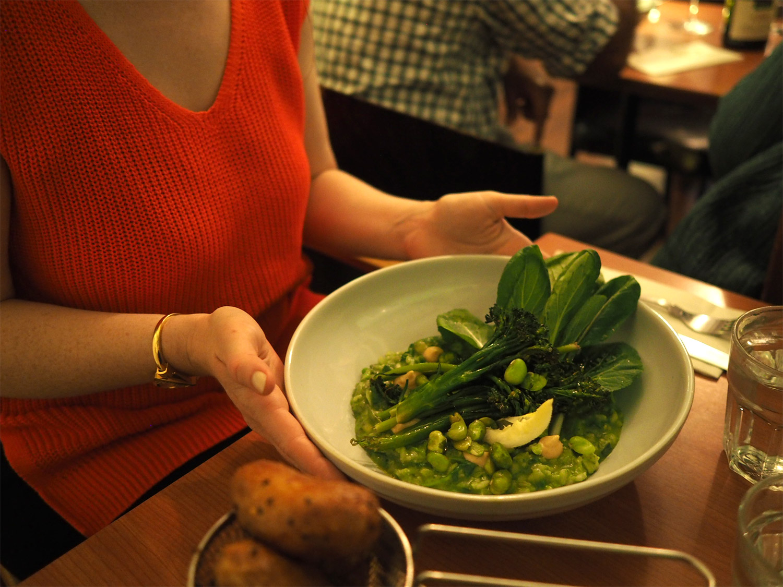 Dinner at The Vintage Kitchen in Dublin - Photo by Chris Behrendt