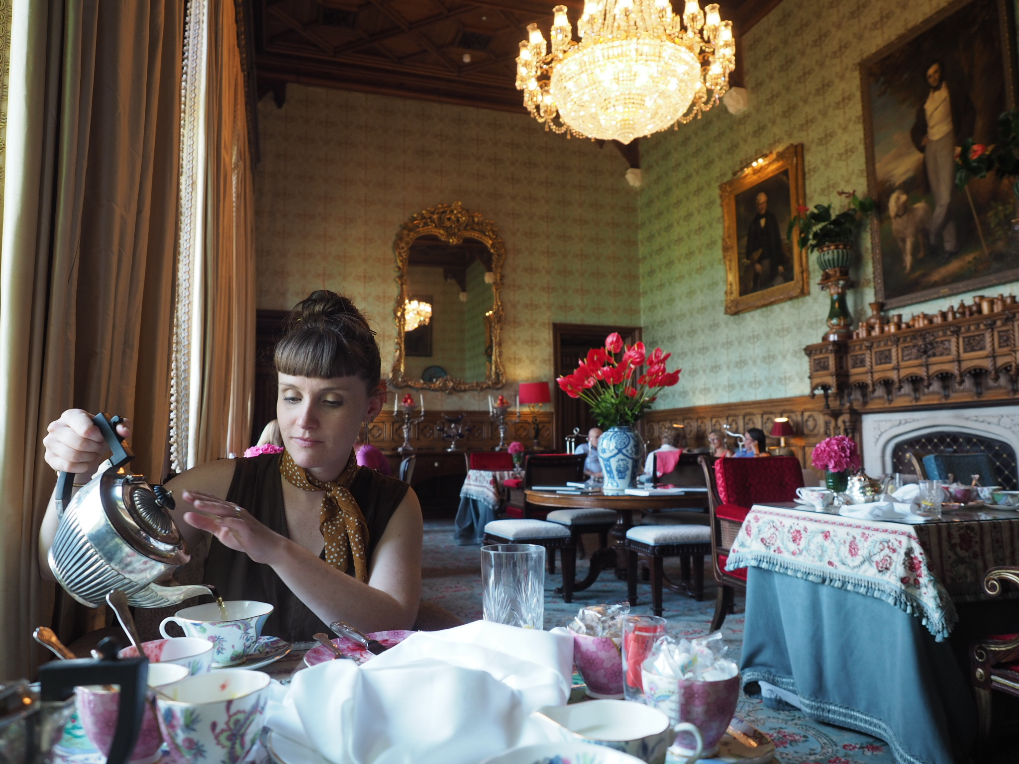 Afternoon Tea at Ashford Castle