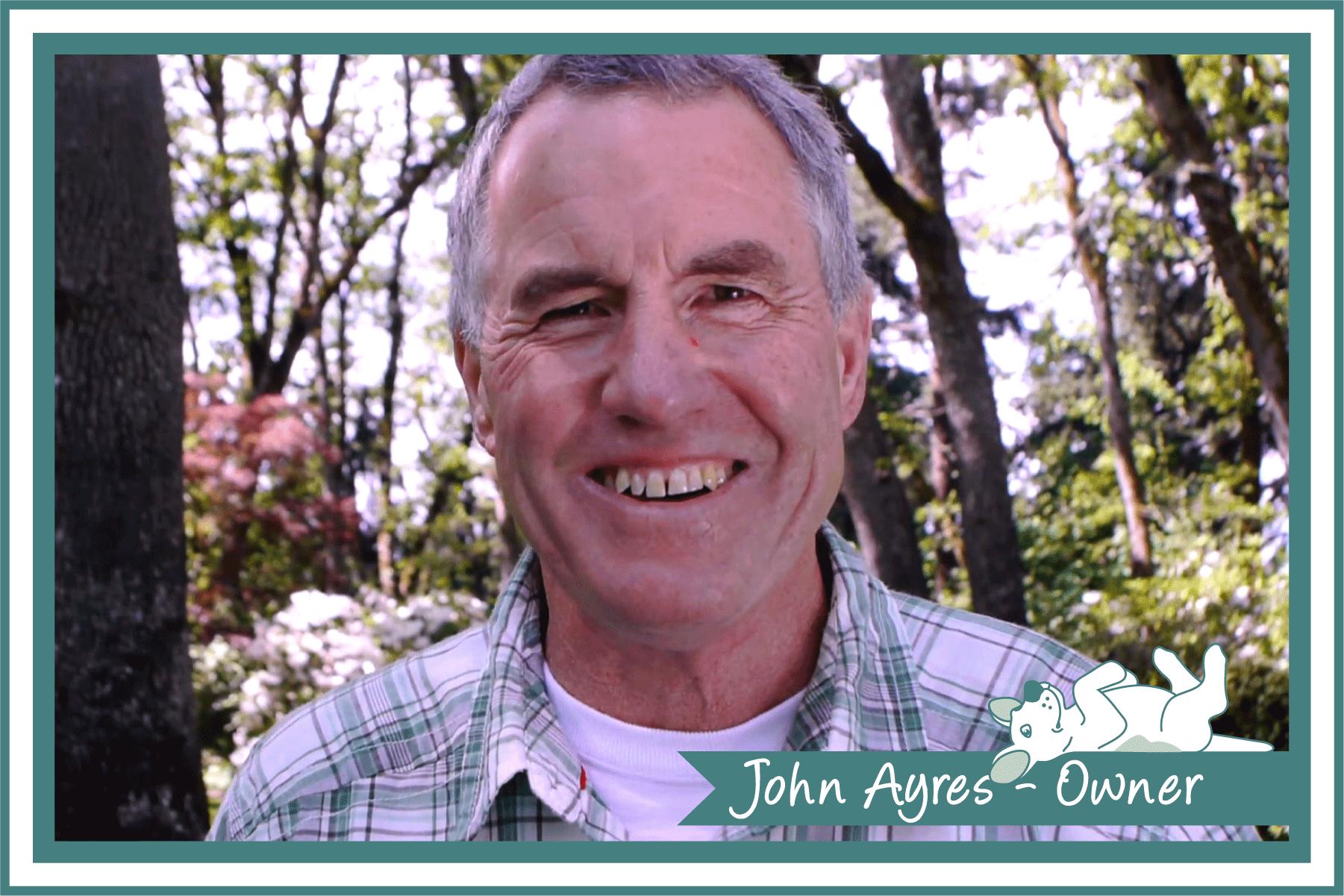 John Ayres, Owner/Operator of Dog Gone Clean.
