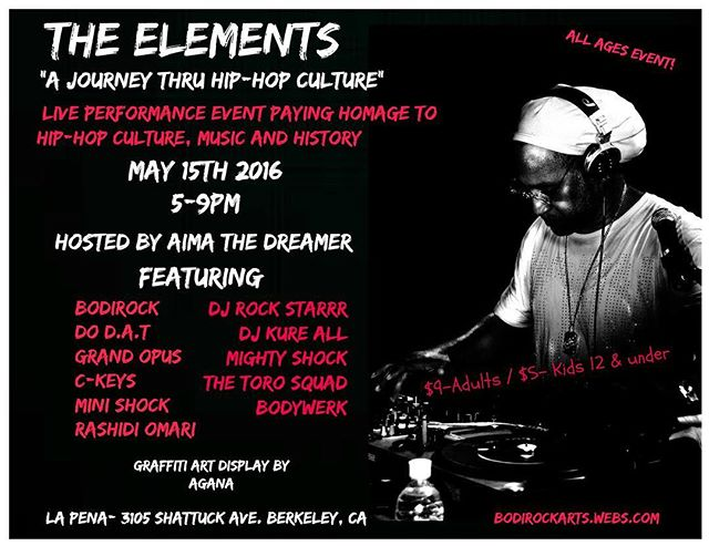 Today! Catch #MiniShock #MightyShock and #FutureShock getting down at #TheElements #Show #CultureShock #CultureShockOakland #BodiRock