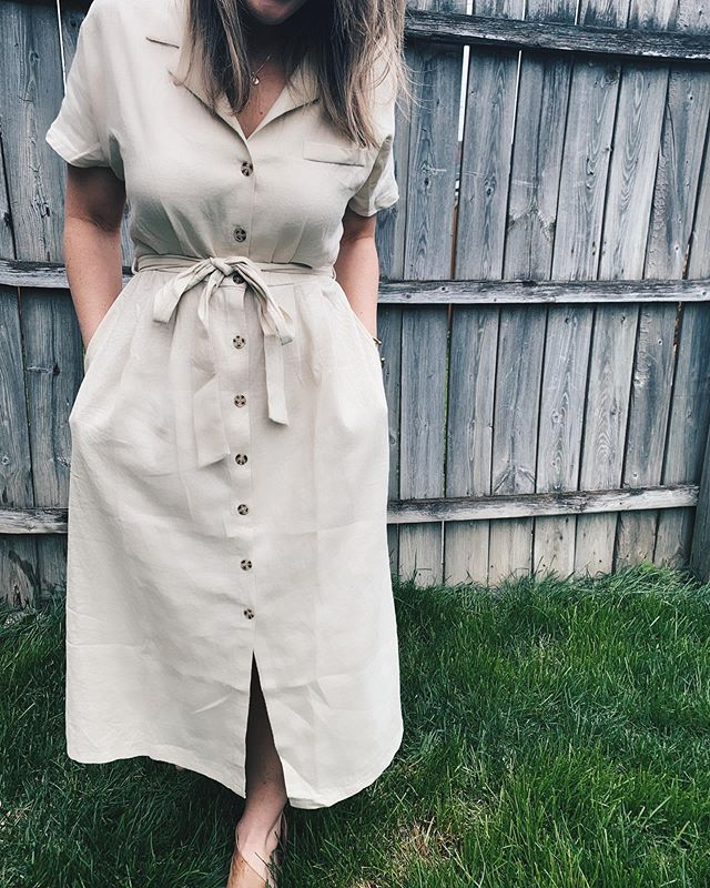 Me in a khaki-colored dress? I guess this is me digressing to the marital mean. . . . . . . #ootd #createyourhappy #albanyandavers #chicagostyle #styleinspo #createcultivate #cityliving #currentlywearing #streetstyle