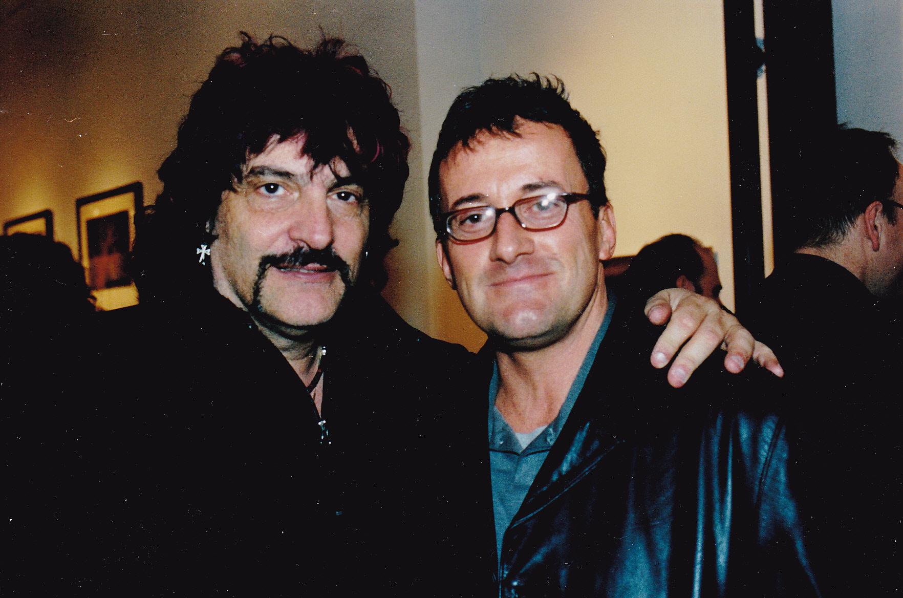 David with legendary Vanilla Fudge drummer Carmine Appice