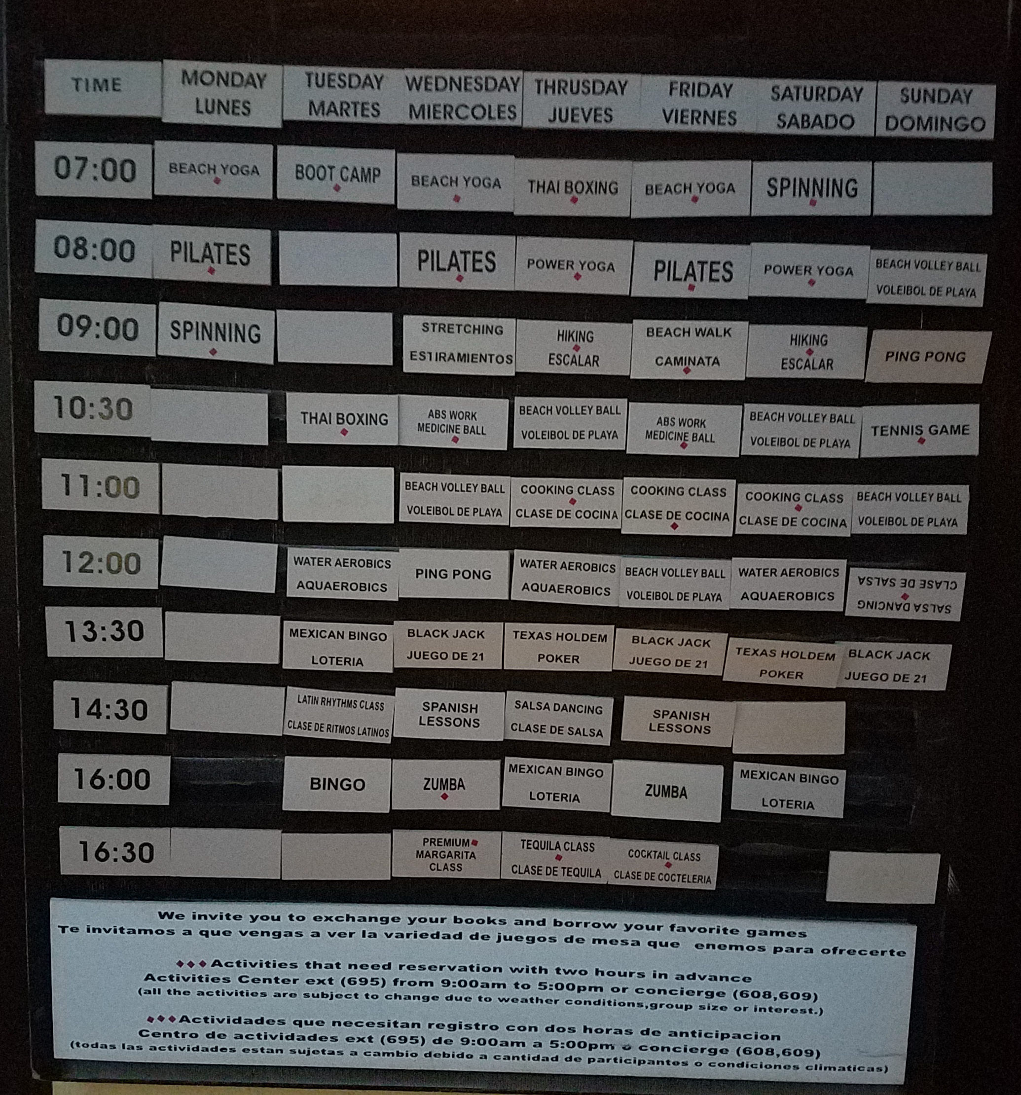 An activity board found at Pacifica / Photo: Darren Paltrowitz