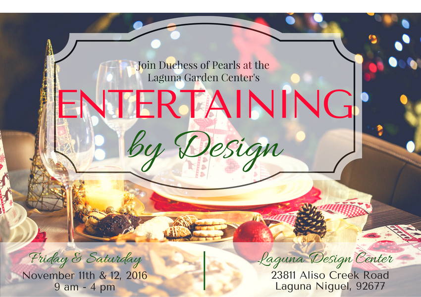 Entertaining by Design