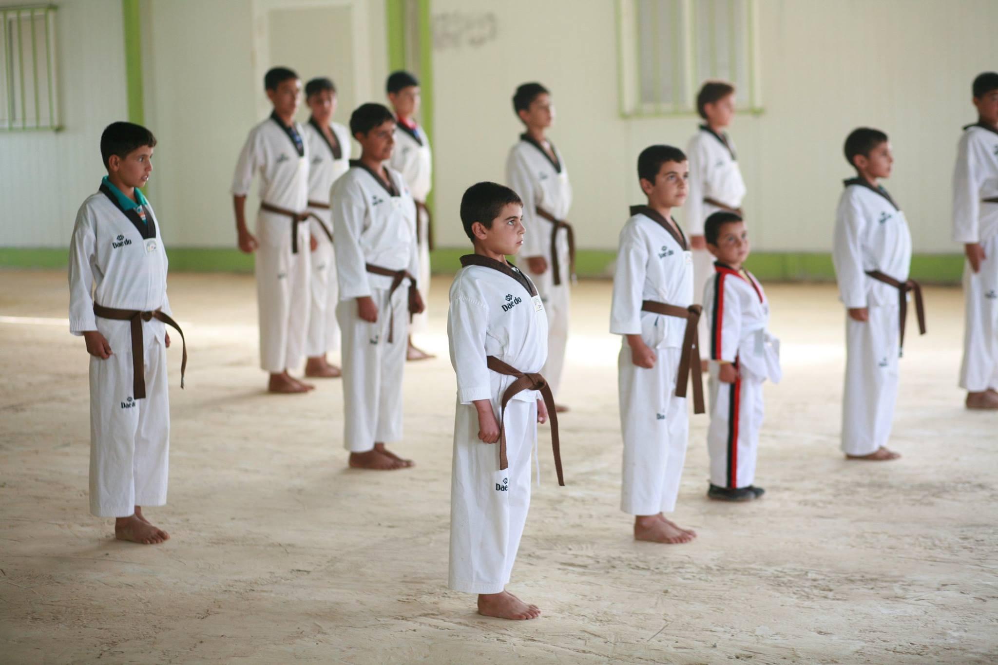 Photo Credits: Zaatari Taekwondo Academy - KFHI, Jordan