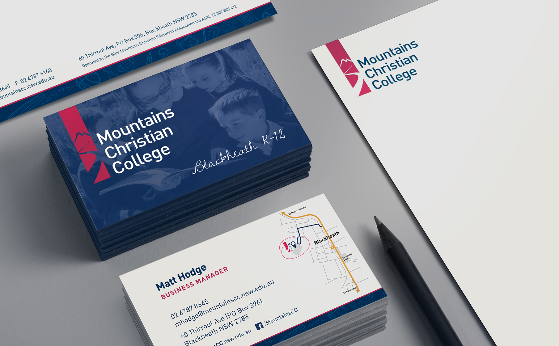School BrandingMountains Christian College - Strategy / Identity / Copy-writing - Booklet