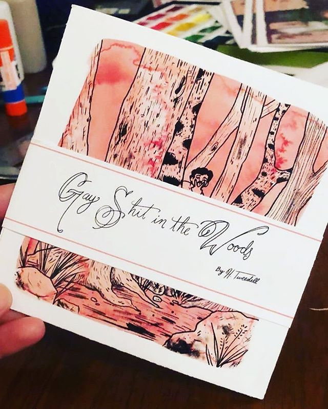 New!! Gay!! NSFW comic/zine!!! Now for sale at Quimbys and Uncharted books OR you can dm me for a copy shipping in US or pick up in chicago!!