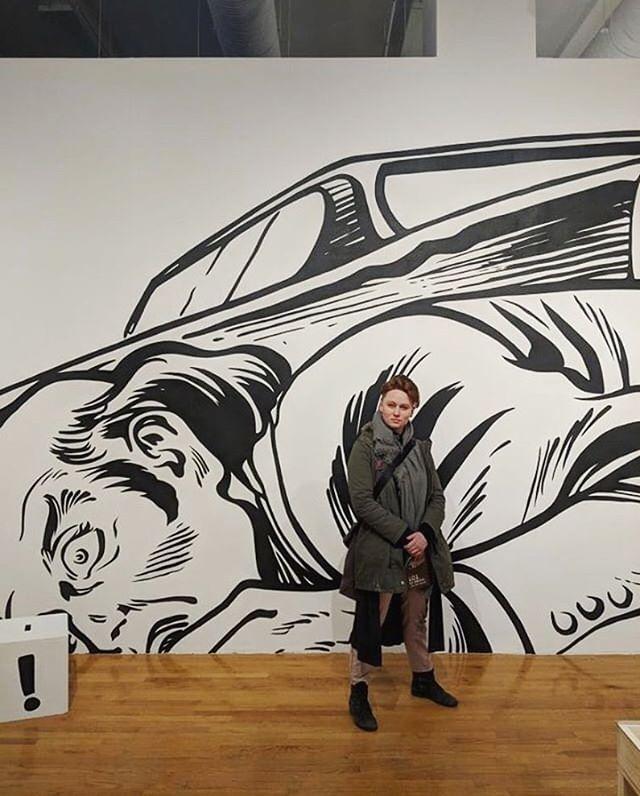 Ooooh howdy  Also nice job on this gorgeous mural @artworkbyjj