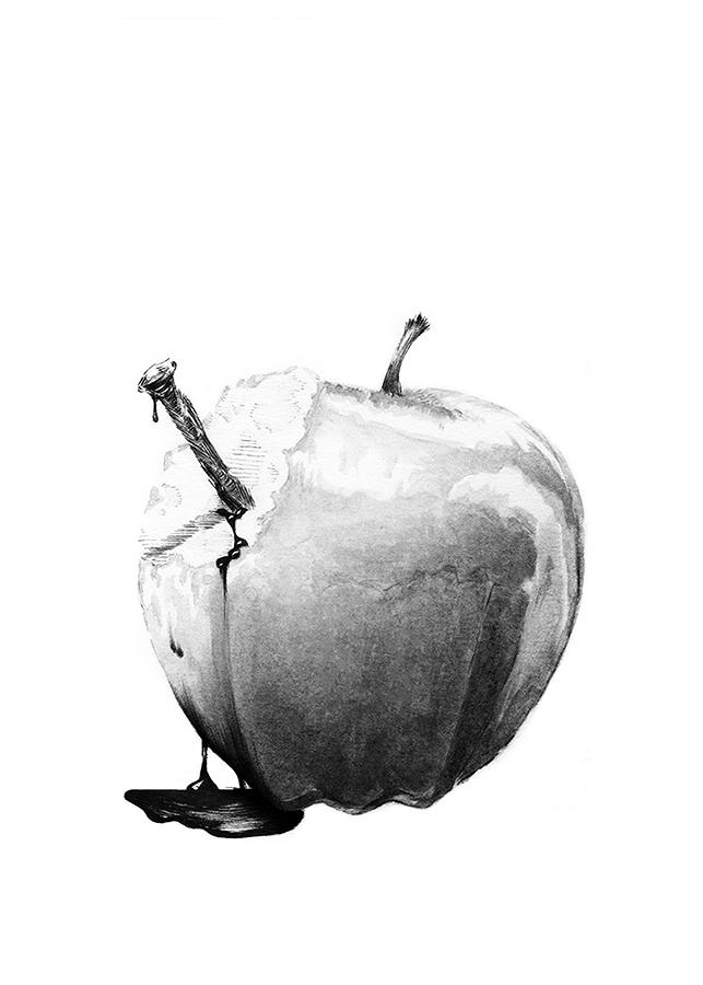 Snow, Glass, Apples Interior