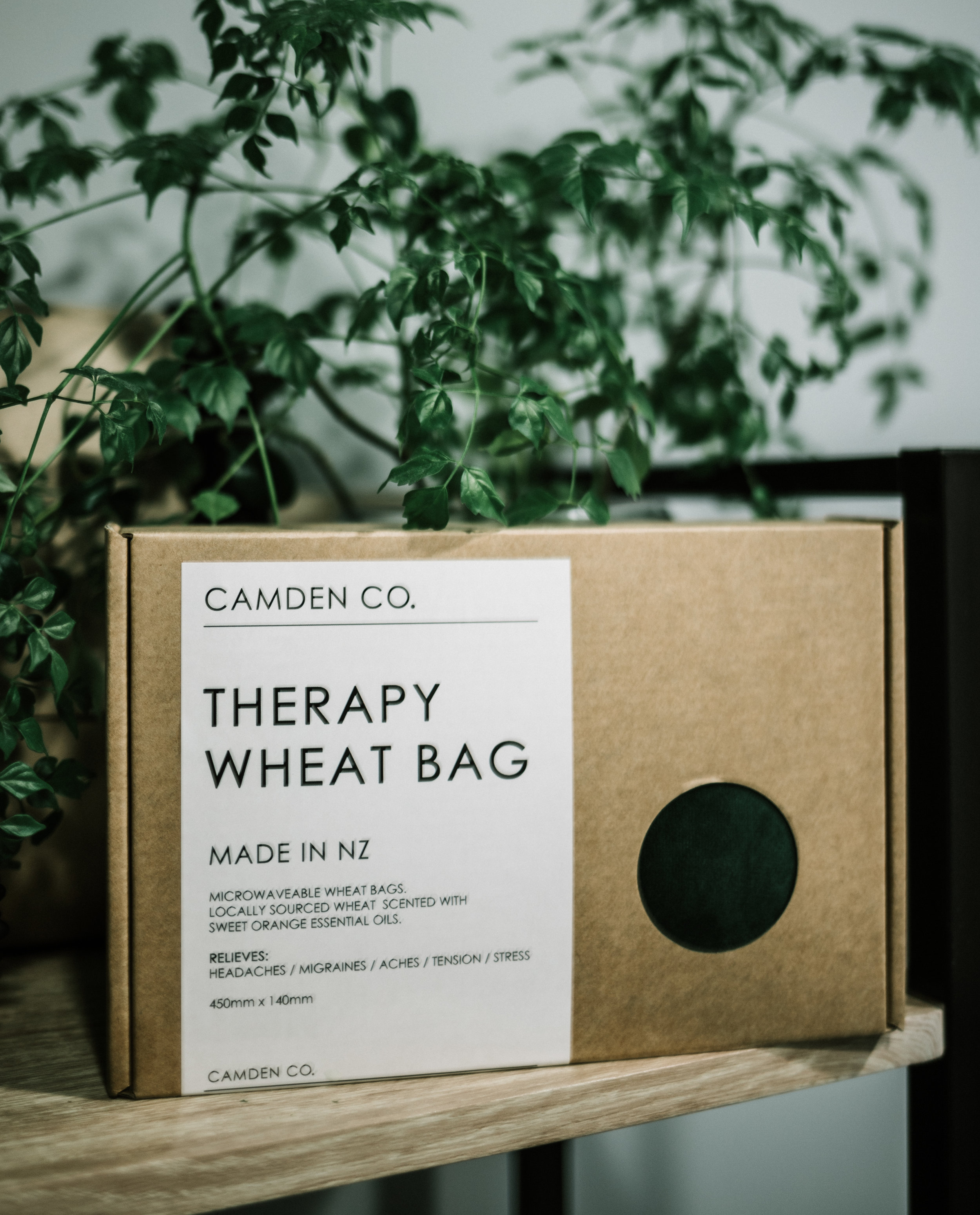 Camden Co. Velvet Wheat Therapy Bag | $45 - Handcrafted in New Zealand from locally grown wheat and locally sourced fabric, these Wheat Bags are a must have around the home. Camden Co's iconic scent infused with Sweet Orange and a hint of lavender.Camden Co Therapy Wheat Bags soothe aches, pains, sore muscles and tension around the neck and can be used hot or cold. They are a great alternative to hot water bottles on cold days and chilly evenings.