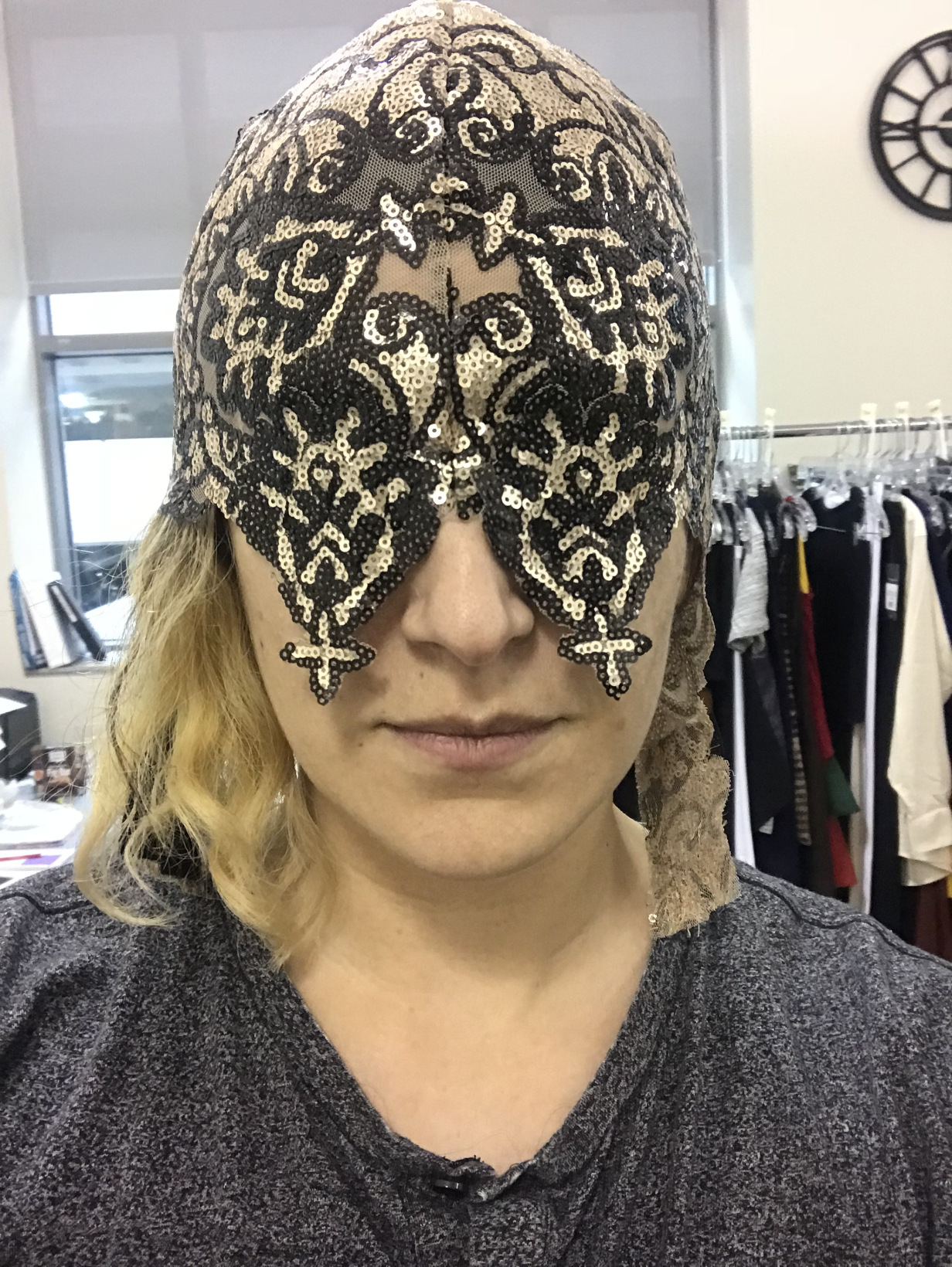 "Mask 3: ""Los Muertos"" New Pattern. -"