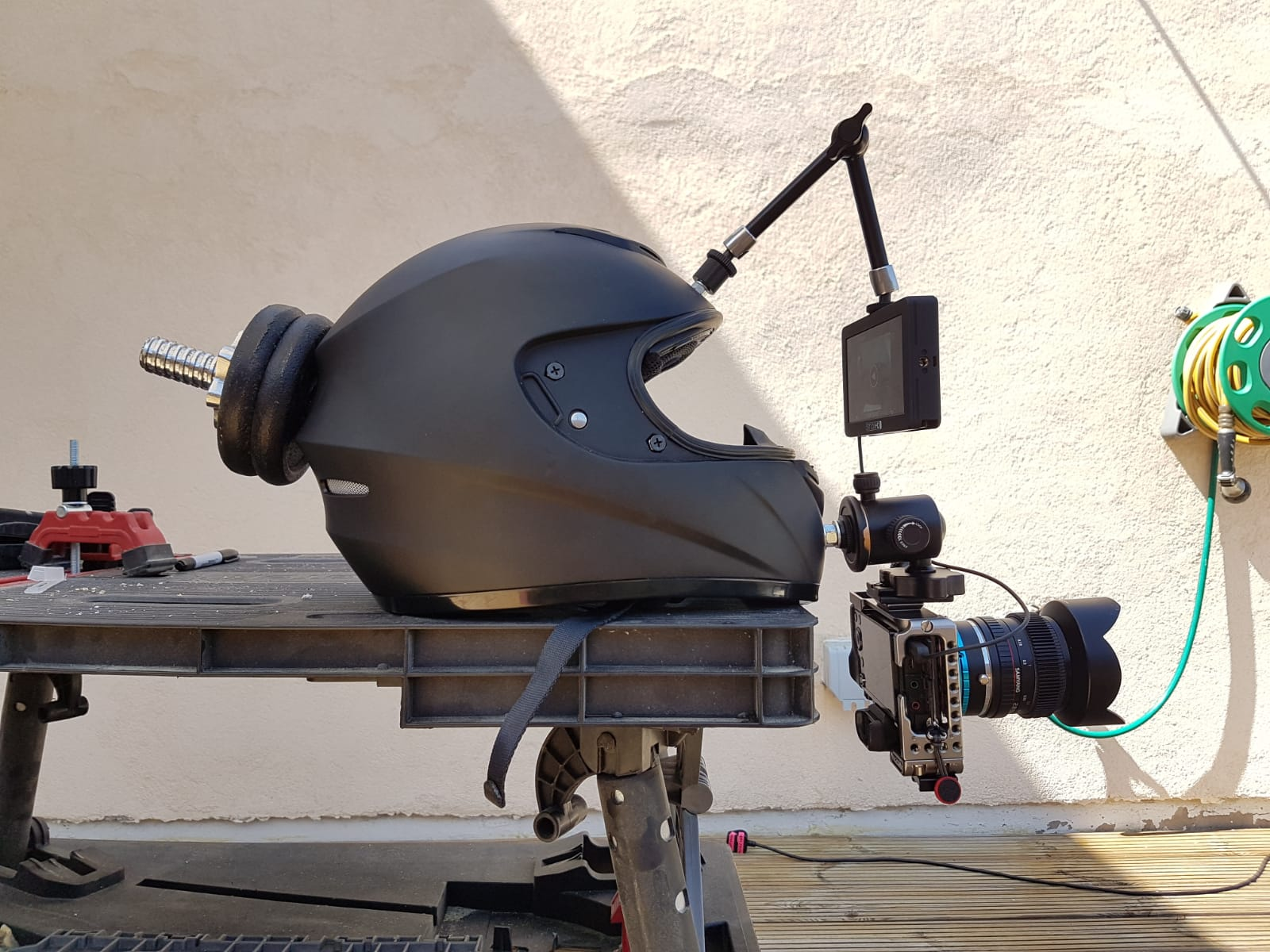 Matt Lesniewski's Helmet Cam invention