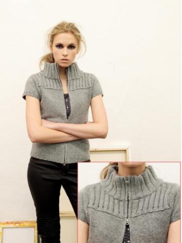 FP-210 Cashmere Merino Wool Zipper