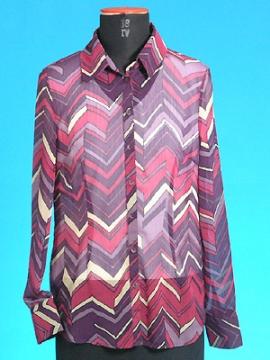 FP-107 Printed woven shirt