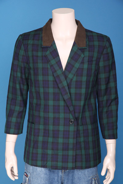 FP-269 Men's check jacket.