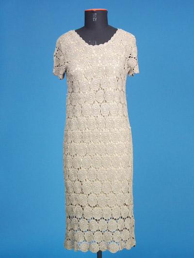 FP-245 Hand Crochet Dress