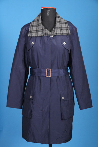 FP-266 Quilted Long Coat