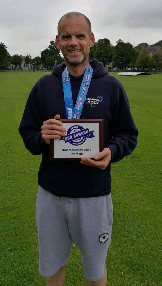 John Robinson - Armagh Half Marathon winner