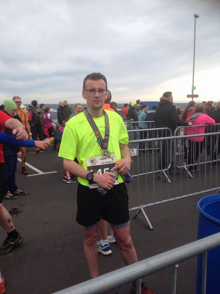 Conor Reid wins the Causeway Coast 10k