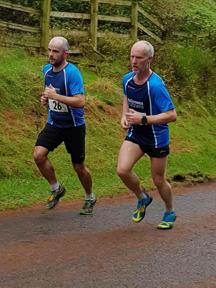 Chris Young and Glen McGall synchronised at Davagh!