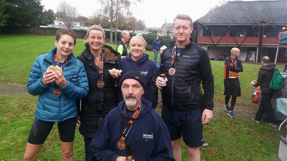Amanda Strange, Karen Ritchie, John Lilley, Nikki Hassan and Declan Hassan at Tollymore Forest Park