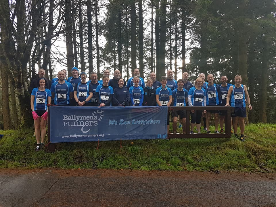 Ballymena Runners prepare to tackle the Davagh Trail