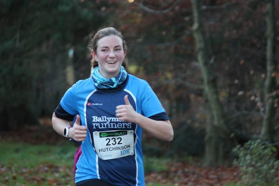 Naomi Hutchinson enjoying her Seeley Cup run
