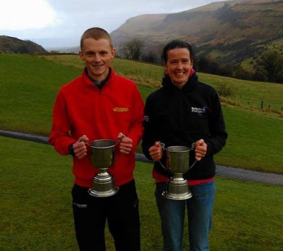 Zak Hanna and Gillian Wasson, Race Over The Glens winners