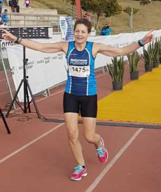 Amanda Strange completes the Torremolinos Half Marathon