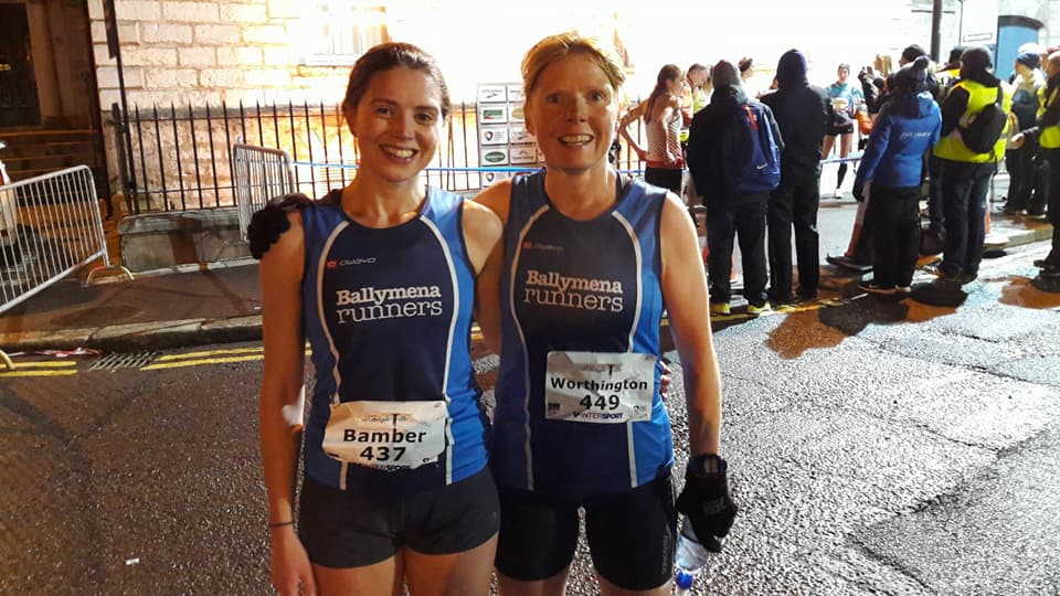 Kerry Bamber and Geraldine Quigley in Armagh