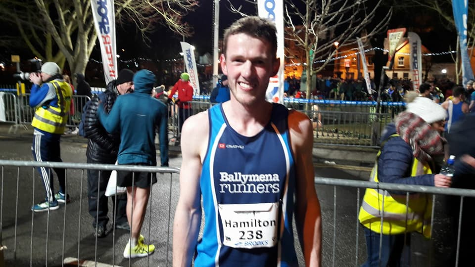 James Hamilton set a new club record at the Armagh International Road Races