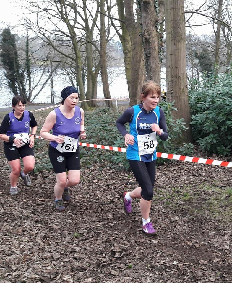 Brigid Quinn in action at Lurgan Park