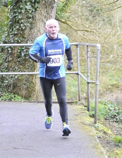David Nicholson looking strong in Antrim