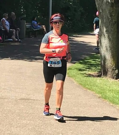 Claire Martin completed 111 miles at the recent Energia 24 hour event to set a new club record
