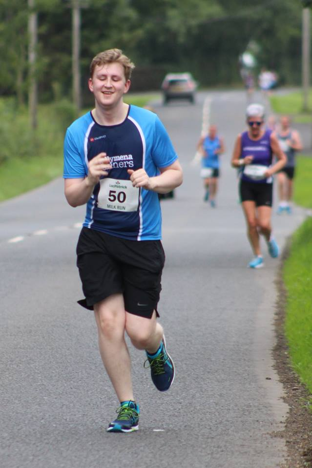 Conor Daly in action at the LacPatrick Milk Run